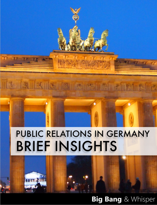Free Ebook: Public Relations in Germany
